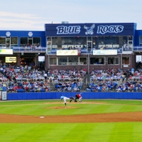 Foster Griffin And Roman Collins Lead Blue Rocks To A 6-2 Win Over Nationals In Season Opener