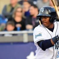 Khalil Lee's 3 RBIs Help Rocks Crush Hillcats 9-2